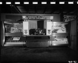 Standard Oil Co. of B.C. display of motor oils