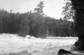The Nipigon River - famous trout stream: one of its undeveloped powers