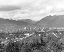 [View of Vancouver from Queen Elizabeth Park]