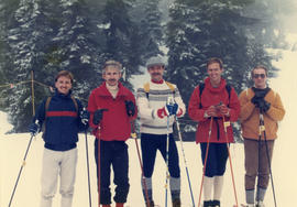 Out and About ski trip : Mt. Baker 1986