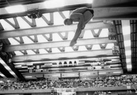 Diving at the Vancouver Aquatic Centre