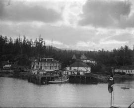 [View of Hotel Malaspina from the water]