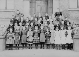 Central School at Pender and Cambie, Vancouver, B.C. [later the site of the Vancouver Community C...