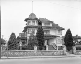 Residence of Captain Copp [at 1110 Victoria Drive] in Grandview District