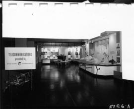 B.C. Telephone Co. display in Manufacturers building
