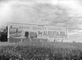Turner Valley Buy Alberta Oil [billboard]