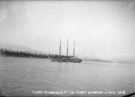 """Lady Kindersley"" in First Narrows"