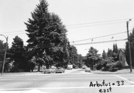 Arbutus [Street] and 33rd [Avenue looking ] east