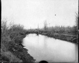 [The old York (Vye Road) Bridge on the Sumas Prairie]