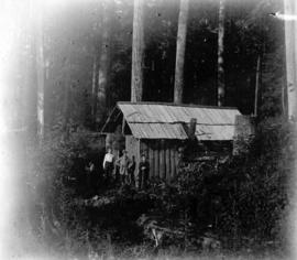 [Thatcher's hunting cabin, four miles up Seymour Creek]