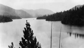 West Coast trip [with Sherwood Lett, Arthur Lord, W.O. Banfield] : Easter Lake