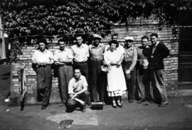 BC Sugar workers: nine men and one woman