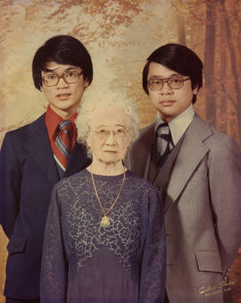 Paul Yee, Vernon Yee and Lillian Ho Wong