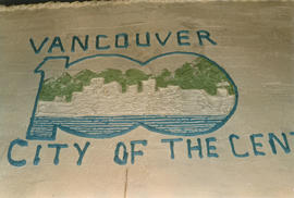 Vancouver City of the Century Cake