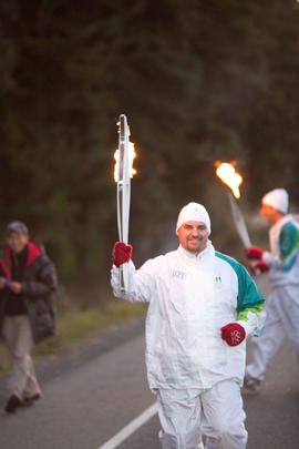 Day 003, torchbearer no. 021, Joe Audette - Nanaimo