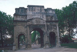 Architecture : triumphal arch at Orange
