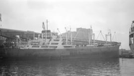 M.S. Elias Lemos [at dock]