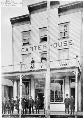 [Exterior of Carter House hotel - 166 Water Street]