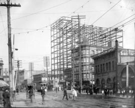 The Holden Building - under construction