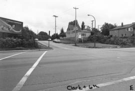 Clark [Drive] and 6th [Avenue looking] east