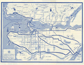 Visitor's map of Vancouver : side 2