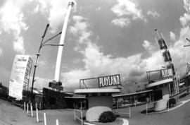 Gates of P.N.E. Playland and Space Tower