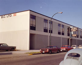 [Photograph of Acme Novelty B.C. Ltd building, 7832 6th St., Burnaby B.C.]