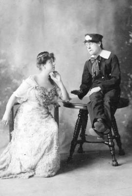 "[Klondike Kate in a vaudeville act called ""Searles and Rockwell]"