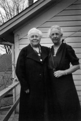 Josephine Denison Condon and Edith Cooley Baker