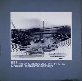 New coliseum at P.N.E. under construction