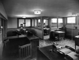 Interior view of Jersey Farms office