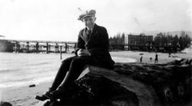 Harry F. Critchley at English Bay