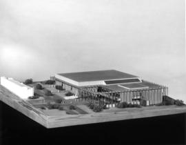 1965 Womens' bldg : [model of the proposed P.N.E. Women's Building]