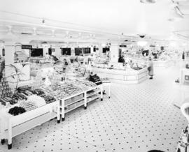 [Spencer's Department Store delicatessen]