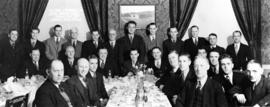 Sun Province 10 pin bowling league season, 1936-1937 banquet, Hotel Georgia