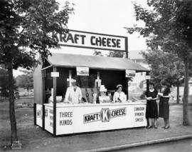 Kraft Cheese display