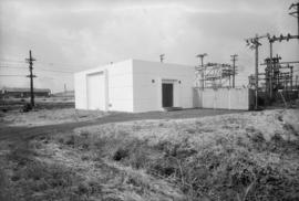 B.C. Electric sub station, Mr. Merrilees