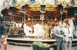 Carousel at Castle Vancouver opening