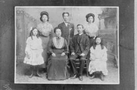 Chinese missionary and family