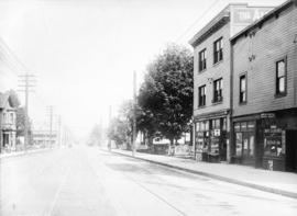 [View of Powell Street, looking east from near Carl Avenue (Princess Avenue)]