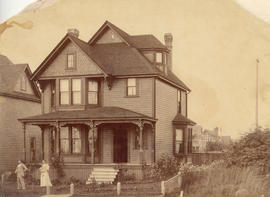 [Exterior of the Spencer residence at 1257 Barclay Street]