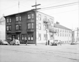 [YMCA building, northeast corner of Cambie and Dunsmuir Streets]
