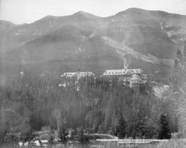Banff Springs Hotel and Sulphur Mountain, Banff, Alta.
