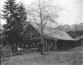 [G.G. MacKay's cottage at Capilano Canyon]