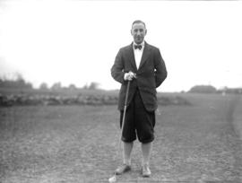 [Robert Gellety at the Jericho Country Club golf course]