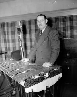 [Mr. Williamson playing a xylophone] in C.B.C. studio