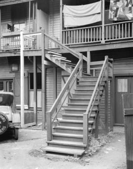 Rear Stairs 732 West Pender Street