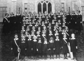 Convent of the Sacred Heart school portrait