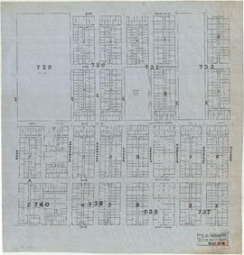Sheet No. 24 [Argyle Street to Forty-fifth Avenue to Ross Street to Fifty-third Avenue]