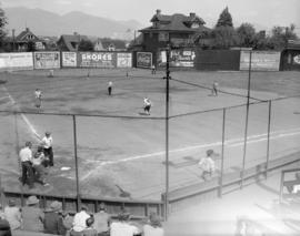 [B.C. Telephone employees baseball team game]